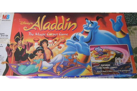 Aladdin: The Magic Carpet Game | Board Game | BoardGameGeek