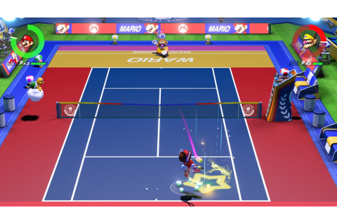 Mario Tennis Aces (Nintendo Switch) Game Profile | News ...
