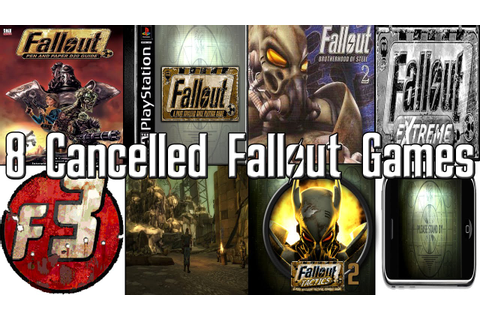 8 Cancelled FALLOUT Games! - FALLOUT History - YouTube