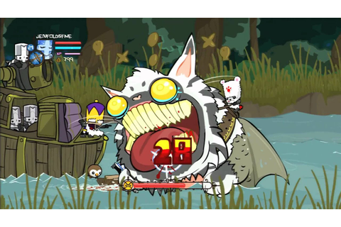 CGRundertow - CASTLE CRASHERS for Xbox 360 Video Game ...