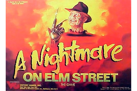 A NIGHTMARE ON ELM STREET : OTHER MERCHANDISE