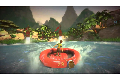 Kinect Adventures - River Rush 1st attempt (720p HD ...