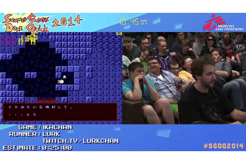 Ikachan by lurk in 13:56 - SGDQ2014 - Part 69 - YouTube