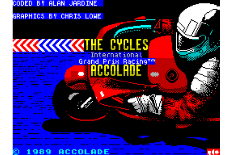 The Cycles: International Grand Prix Racing (1990) by ...