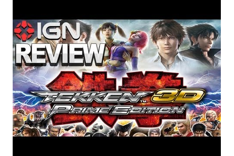 IGN Reviews - Tekken 3D: Prime Edition - Game Review - YouTube