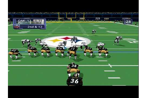 NFL 2K1 (Dreamcast) - YouTube