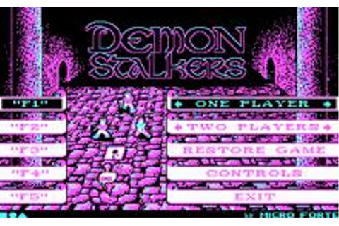 Demon Stalker Download (1988 Arcade action Game)