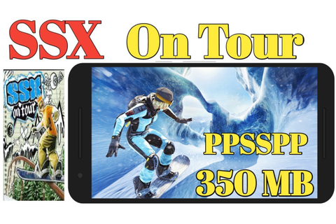 SSX On Tour PSP Game Highly Compressed 350 MB Play Any ...