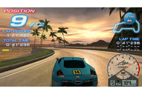 Ridge Racer 2 Gameplay psp - Car Racing Games 2016 - car ...
