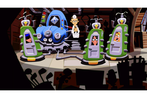 Take a first look at Day of the Tentacle Remastered, then ...