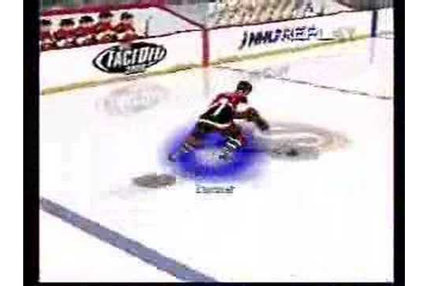 NHL Face Off 2000 Playstation - Gameplay footage Part 1 of ...