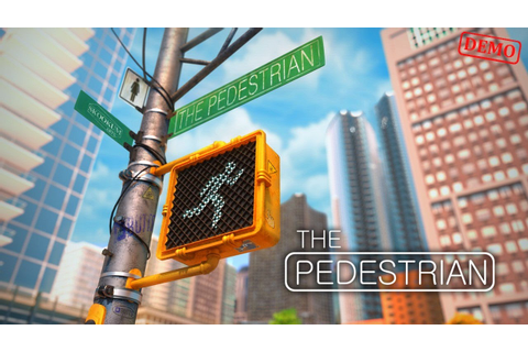 The Pedestrian Demo Gameplay [Puzzle game] - YouTube