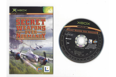 Secret Weapons over Normandy for Xbox - worldwide shipping ...