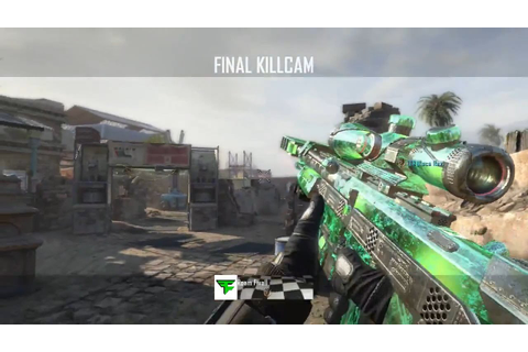 Black Ops 2 TRICKSHOT + KILLCAM Sniper Montage/Gameplay ...