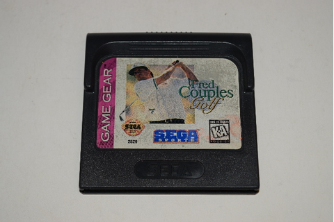 Fred Couples Golf Sega Game Gear Video Game Cart ...