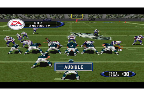 Madden NFL 2005 PS1 Gameplay HD - YouTube