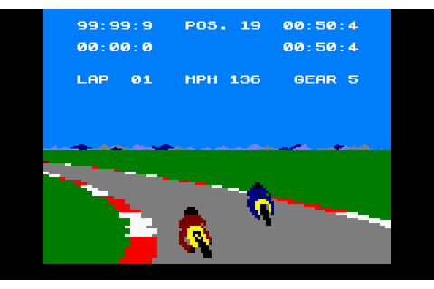 Speed King (1986) Amstrad CPC game