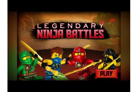 Lego Games : Ninjago Games Legendary Ninja Battles Game ...