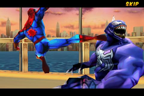 Ultimate Spider-Man: Total Mayhem on Qwant Games