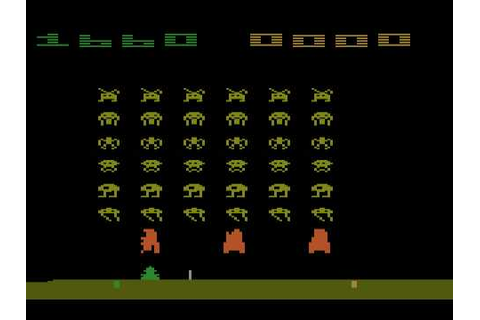 Atari 2600 Space Invaders - YouTube