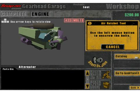 Gearhead Garage download PC