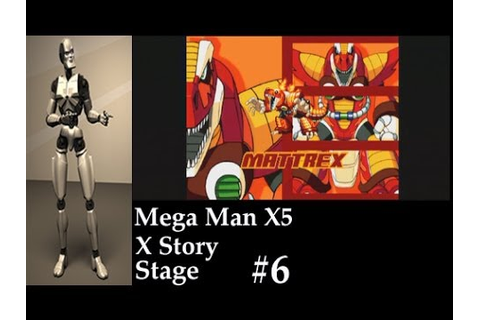 Mega Man X5 Stage 6 Boss Mattrex Game Play - YouTube