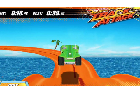 Hot Wheels Track Attack GAMEPLAY 2016 - YouTube