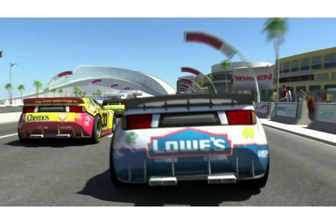 NASCAR Unleashed Video Game, Debut Trailer HD - Video Clip ...