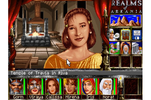 Realms of Arkania 3: Shadows Over Riva rpg for DOS (1996 ...