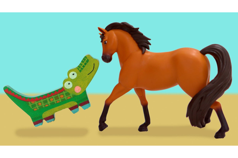 Spirit Riding Free Game - Crocodile Hiding with Lucky, Pru ...