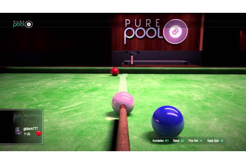 Virtual snooker matches - YouTube