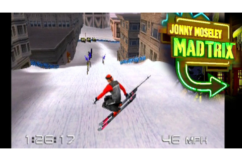 Jonny Moseley Mad Trix ... (PS2) - YouTube