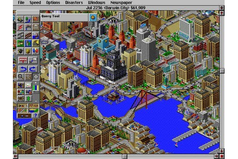 CGRoverboard SIM CITY 2000 for PC Video Game Review - YouTube
