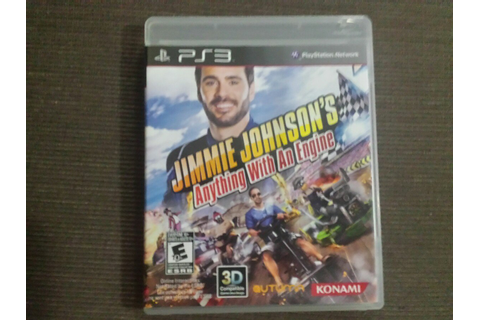 Jimmie Johnson's Anything With An Engine (jogo Original ...