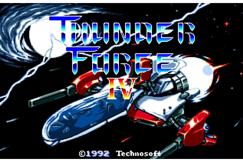 Thunder Force IV image - 4TH Generation Gamers - Mod DB