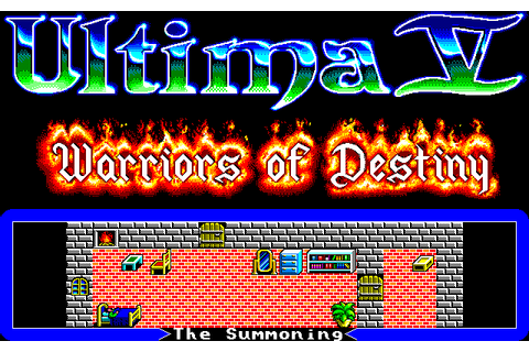 Ultima V: Warriors of Destiny (1990) by Infinity Co. NEC ...