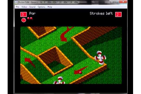 Zany Golf - Mega drive / Genesis Longplay - YouTube