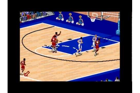 Coach K College Basketball (Genesis)- Gameplay - YouTube