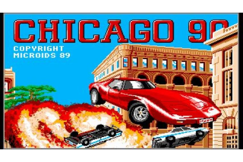 Chicago 90 gameplay (PC Game, 1989) - YouTube