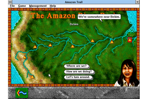 The Amazon Trail (1996 - Windows/Windows 3.x). Ссылки ...