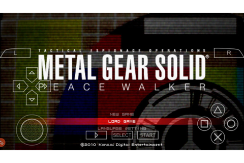 How Download Metal Gear Solid game for Android Mobile in ...