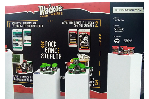 Wacko's | Pack, Game, Stealth – Beegraphic srl