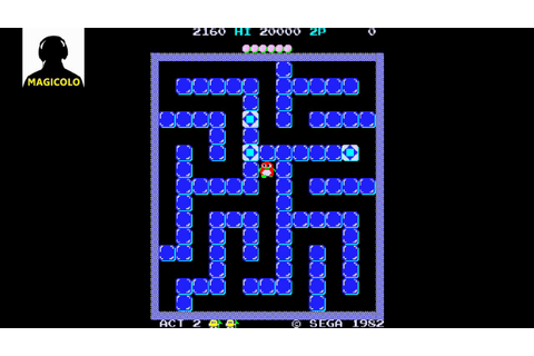 PENGO - 1982 Arcade game by SEGA - YouTube