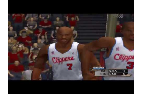 NBA 2K2 Demo Mode Hornets @ Clippers Game Play - YouTube