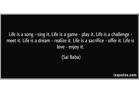 Life Is A Game Quotes. QuotesGram
