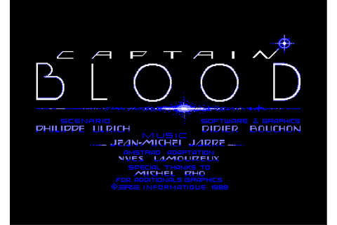 l'arche du captain blood © ere informatique (1988)