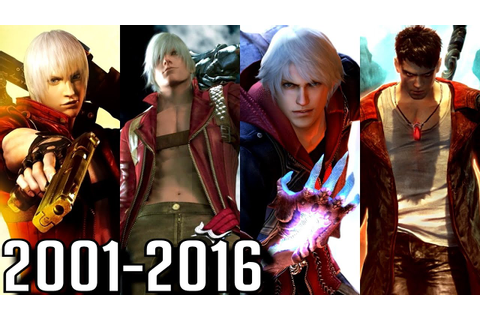 Devil May Cry - ALL INTROS 2001-2016 (PS2-PS4, Xbox, PC ...