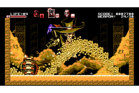 Bloodstained: Curse of the Moon Brings 8-Bit Action to PS4 ...