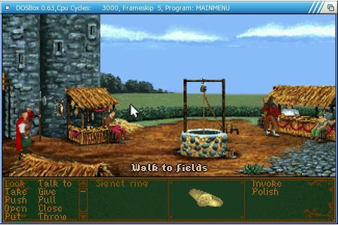 Classic adventure game Dragonsphere available for free ...