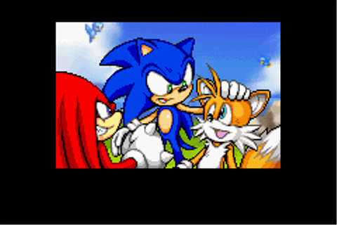 Ending for Sonic Advance 2-Special End(Game Boy Advance)